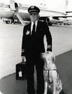 Pilot and dog