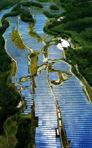 Solar panels Japan gold course