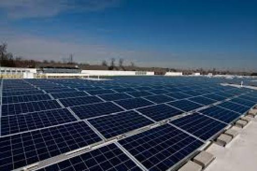 Solar panels on retail