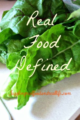 Real-Food-Defined