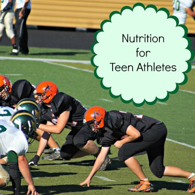 Nutrition For Teen Athletes