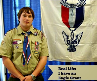 My Eagle Scout Son