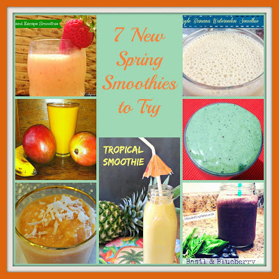 7 New Spring Smoothie Recipes to Try