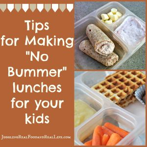 Tips for a creating school lunches