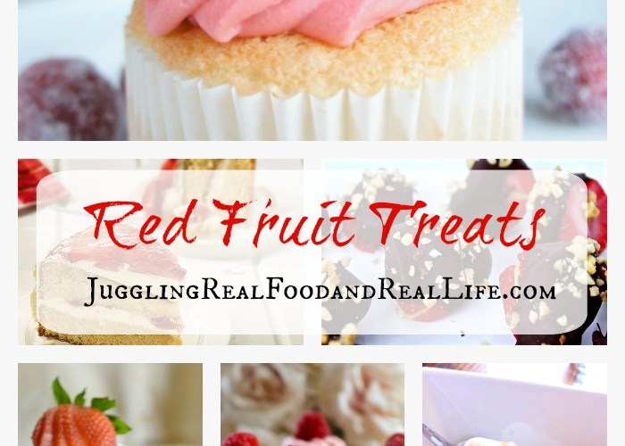 Red fruit desserts