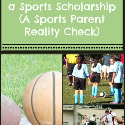 News Flash:  Your Kid Isn't Getting a Sports Scholarship