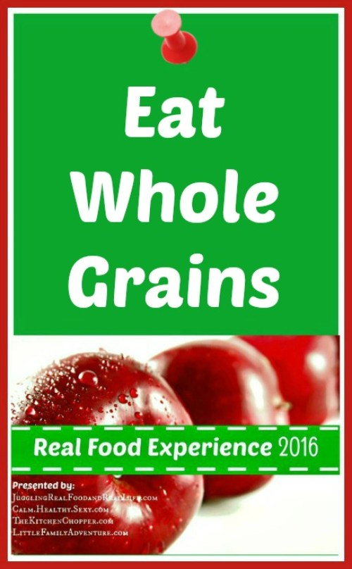 Eat Whole Grains for Better Health