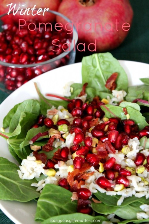 Winter Pomegranate Salad