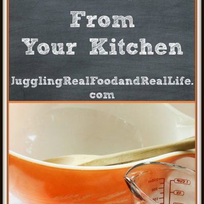 Quick Challenge:  Declutter 10 Items From Your Kitchen