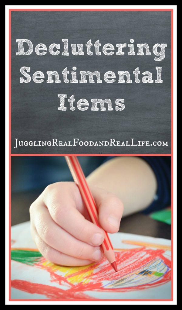 Declutter-Sentimenatl Items