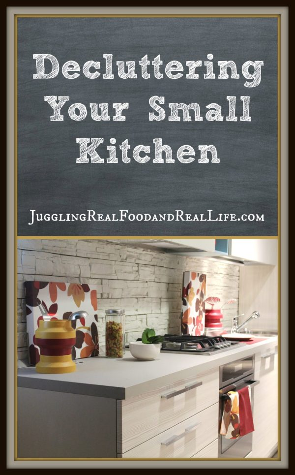 Small-kitchen-decluttering