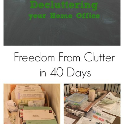 Decluttering Your Home Office