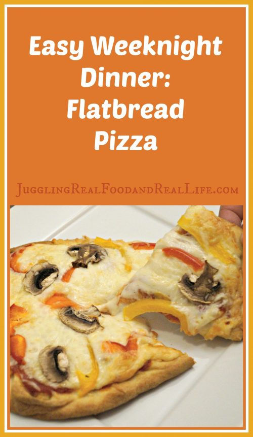 Naan Flatbread Pizza