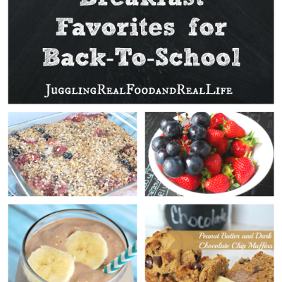 Back To School:  3 Easy Breakfast Favorites