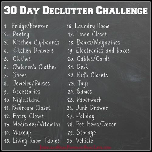 30daydeclutterlist