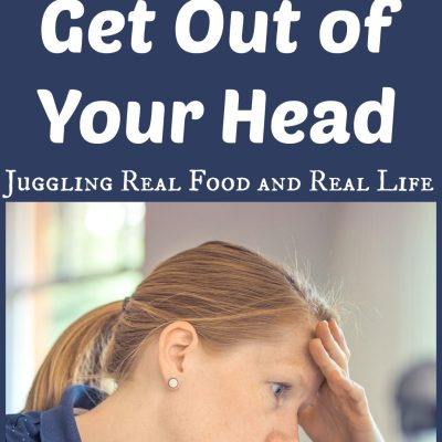 Declutter Challenge:  Get Out of Your Head