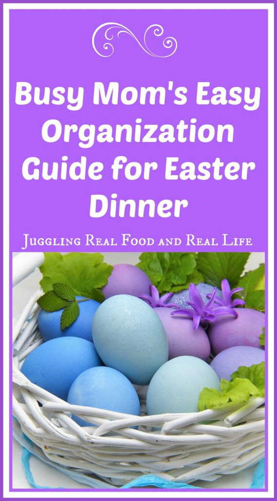 Busy Moms Easter Organization Guide