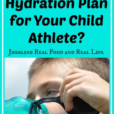 Do You Have a Hydration Plan for Your Child Athlete?