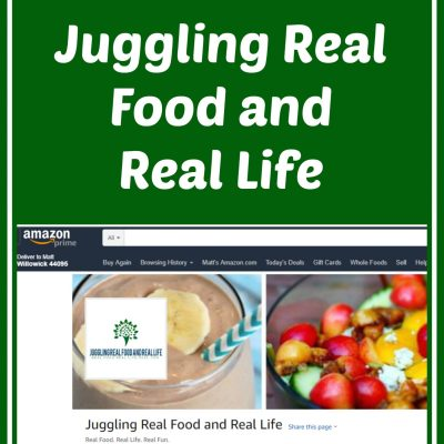 Shop With Juggling Real Food and Real Life