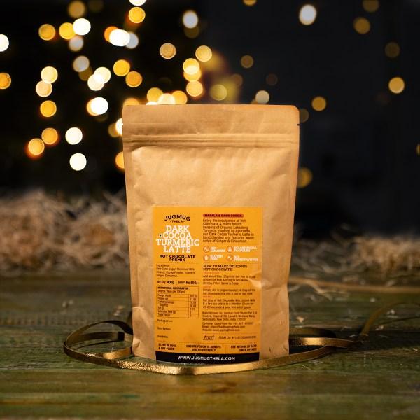 Dark-Cocoa-Turmeric-Latte-Hot-Chocolate-Premix-By-Jugmug-Thela-Buy-Online