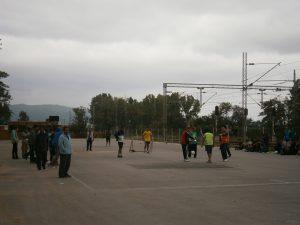 Presevo fudbal migranti