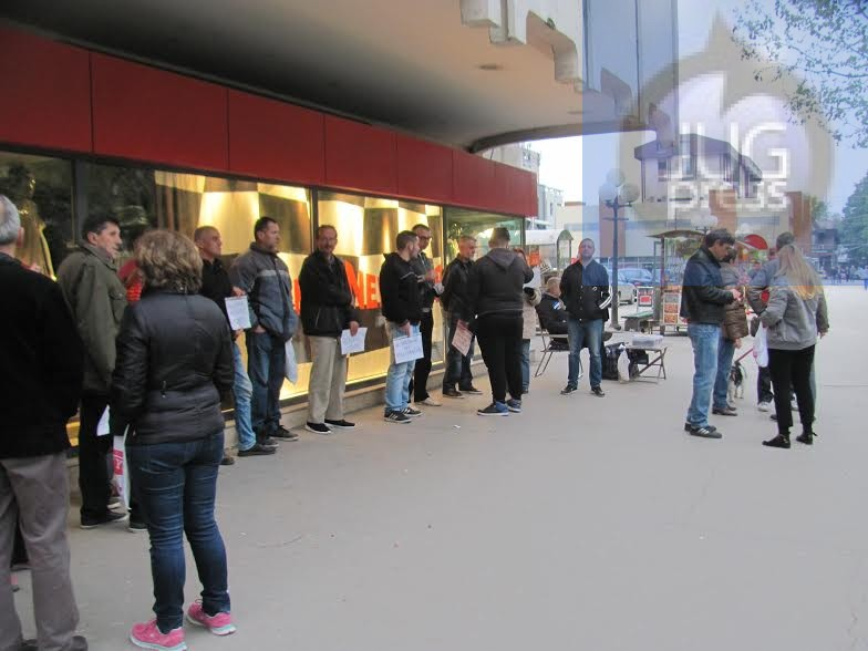 Protesti u Leskovcu: Da li ovakav život želite za svoju decu?