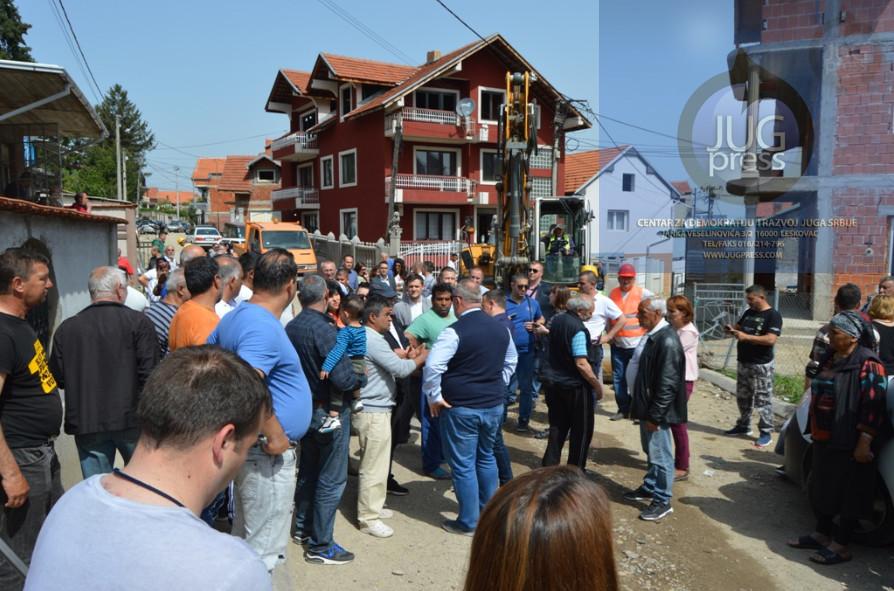 Počela rekonstrukcija ulica u Sat mahali
