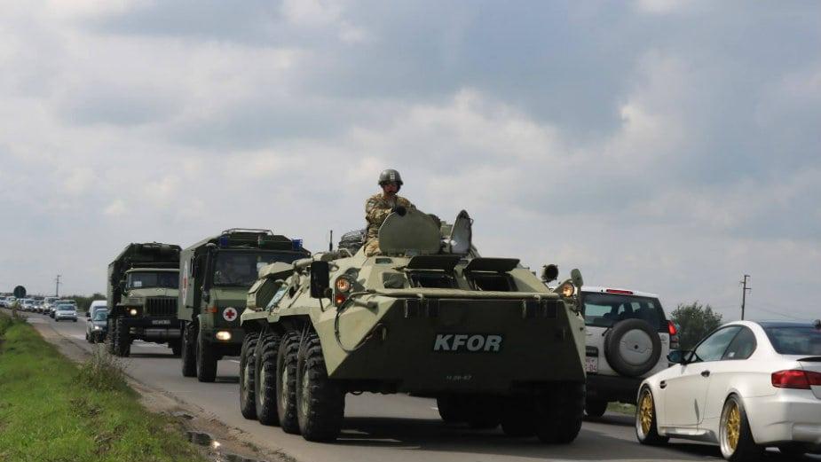 Kfor potvrdio zajedničku patrolu sa Vojskom Srbije duž administrativne linije