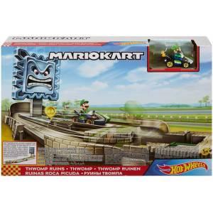 Hot Wheels Pista Mario Kart Circuito Ruinas Roca