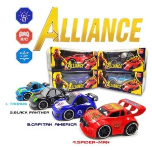 Avengers Carro Control Remoto Juguetes Jugueteria Juegos Didáctico niños