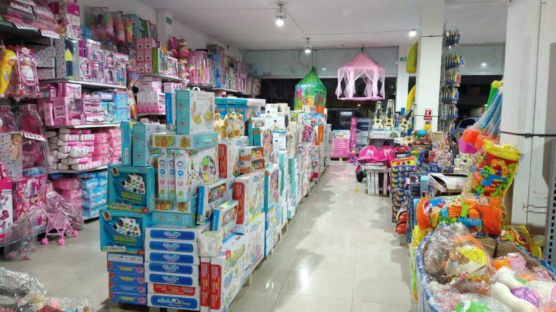 Juguetes para niños en Medellín