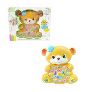 piano de bebe en forma de oso para aprender la hora en medellin