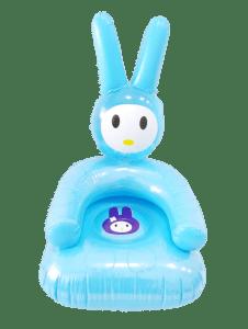 Silla Inflable en forma de Conejo