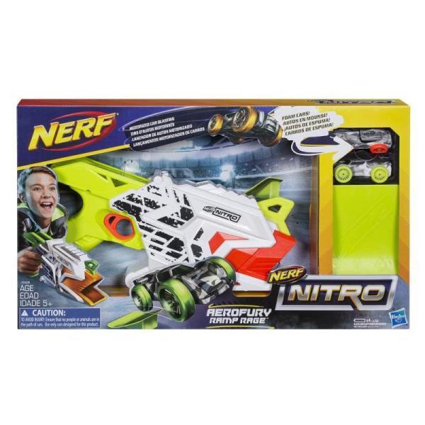 Lanzador Nerf Nitro AeroFury Ramp Rage