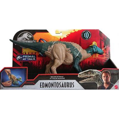 Mattel Jurassic World Sound Strike Triceratops, Surtido