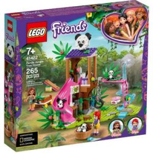 LEGO friends Casa de Panda arboles de jungla