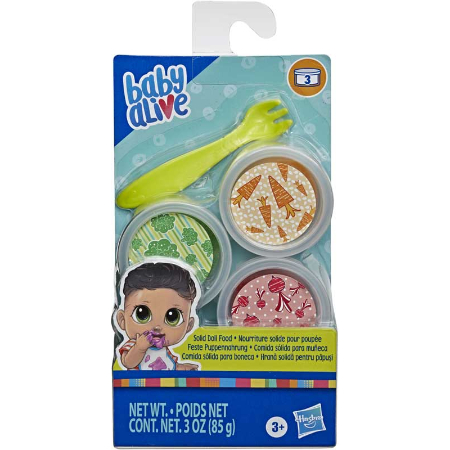 Baby Alive REFILL SOLID FOOD PACK