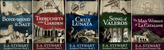 The Accidental Heretics Series by E.A. Stewart