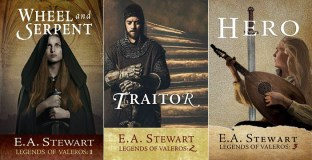 Legends of Valeros series by E. A. Stewart