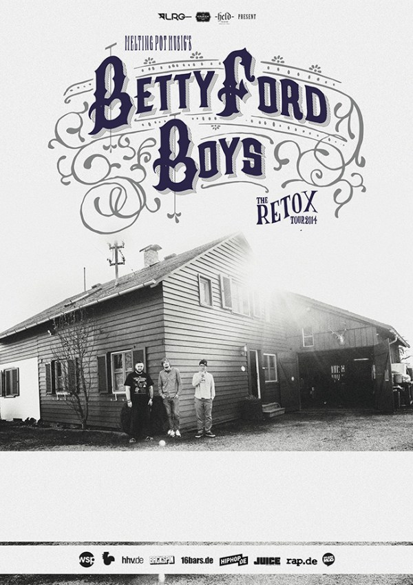 Betty Ford Boys live [Verlosung]