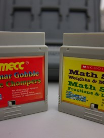 MECC and Scholastic were two of the software developers represented on the catridge list.