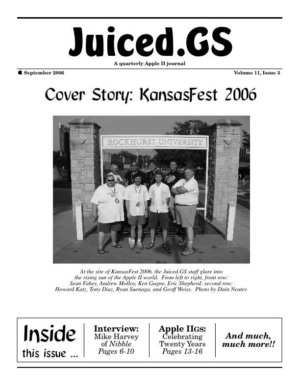 Volume 11, Issue 3 (September 2006)