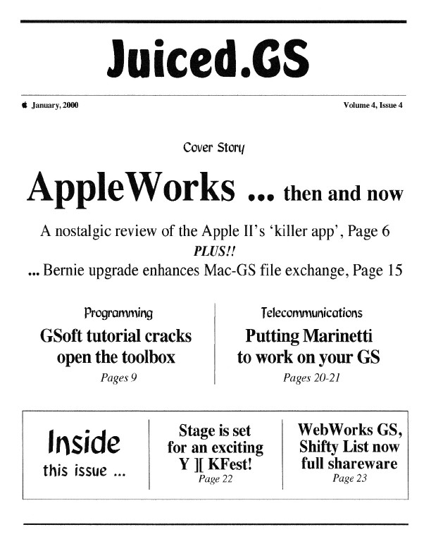 Volume 4, Issue 4 (January 2000)