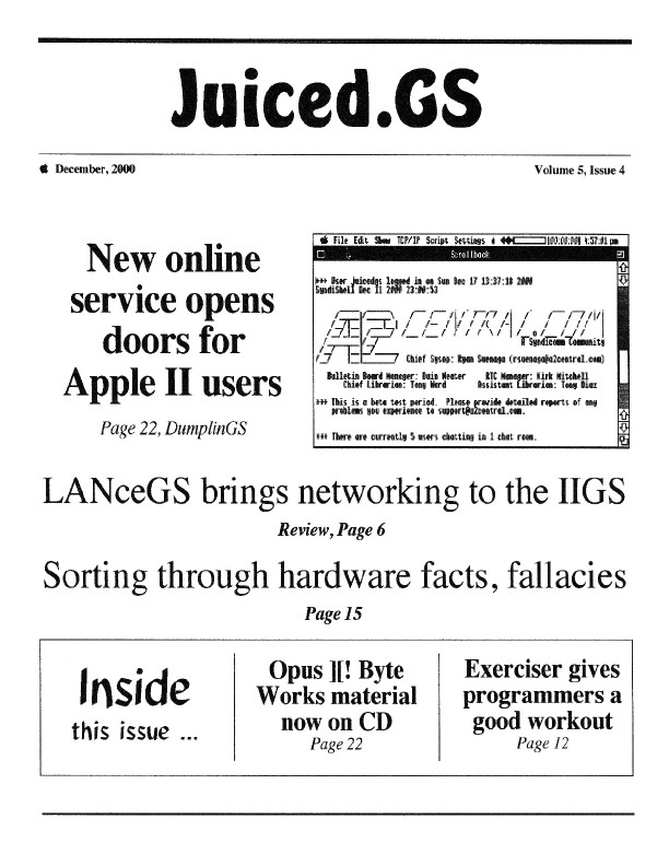 Volume 5, Issue 4 (December 2000)