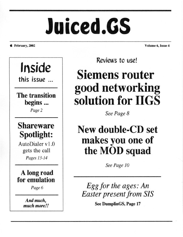 Volume 6, Issue 4 (February 2002)