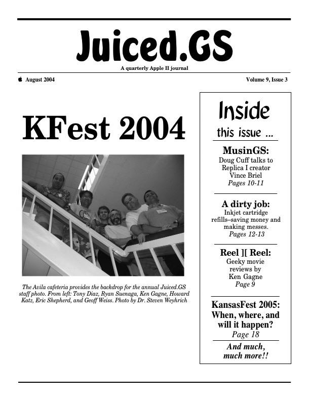Volume 9, Issue 3 (August 2004)