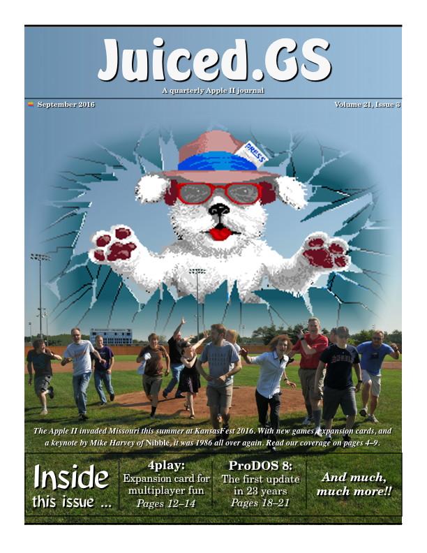 Juiced.GS Volume 21, Issue 3 (September 2016)