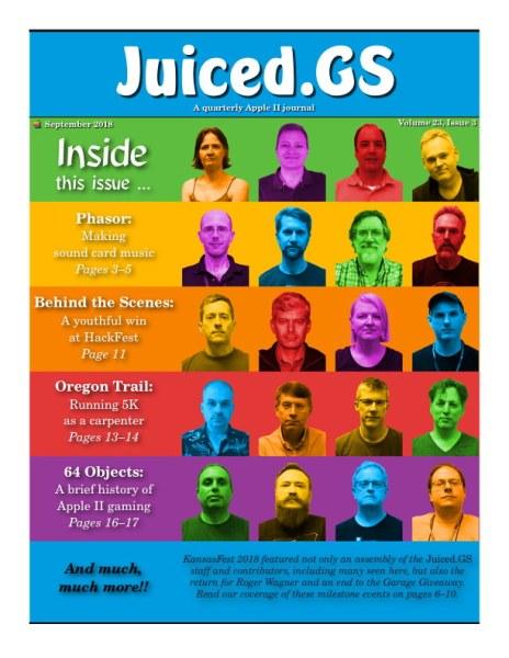 Juiced.GS Volume 23, Issue 3 (September 2018)