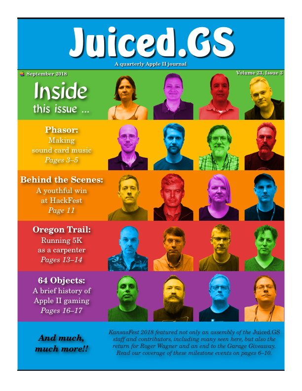 Juiced.GS Volume 23, Issue 3 (September 2018)