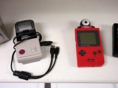 A Game Boy printer and camera!
